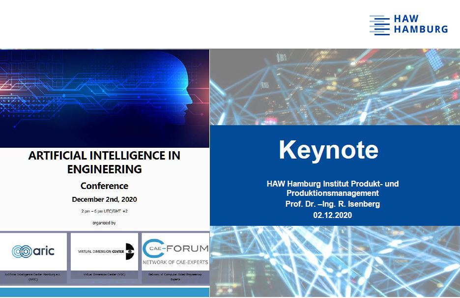 HAW Hamburg Institut Produkt und Produktionsmanagement CAE-Forum